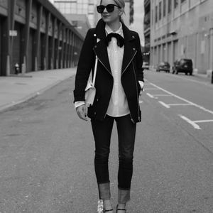 Zara Motorcycle Jacket XS